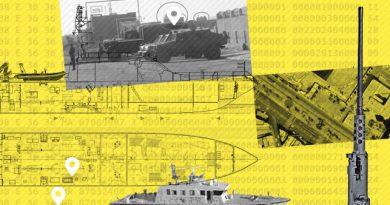 Spanien exportiert Militärschiffe als zivile Schiffe getarnt.
