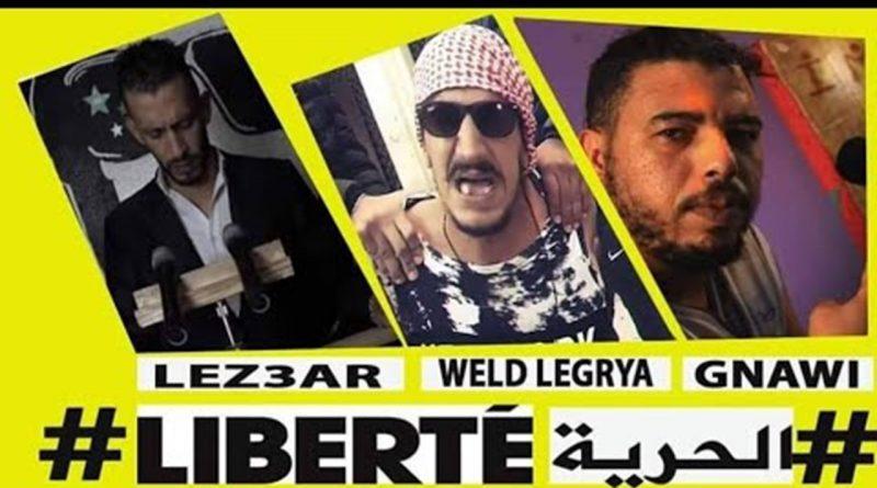 """Zensur: Marokko verbietet jede Aktivität im Zusammenhang mit Rap nach dem Lied """"Es lebe das Volk""""."""