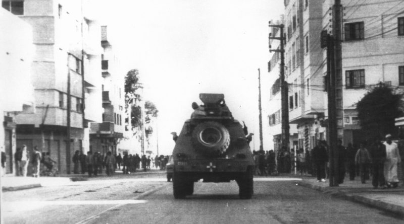 The Rif rebellion of January 1984