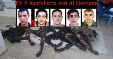Die fünf verbrannten jungen Männer vom 20. Februar 2011 in Al Hoceima (Video)